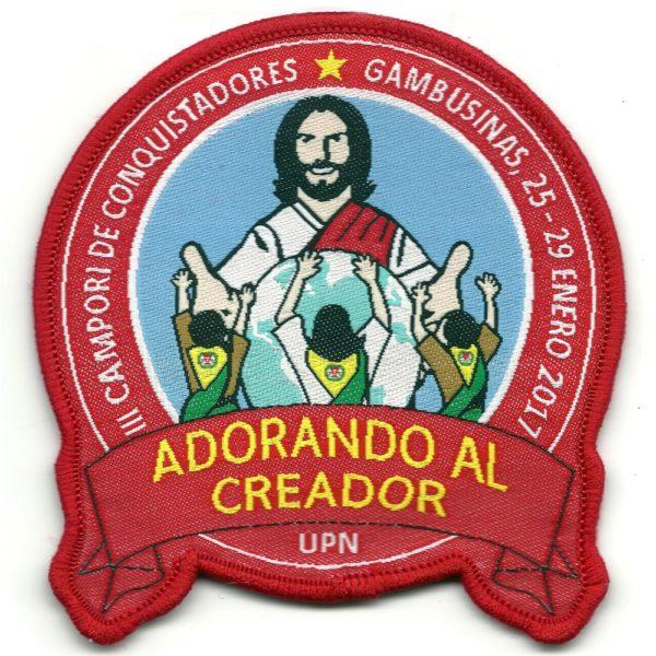 Souvenir Adorando Al Creador – UPN 2017 – NÃO OFICIAL