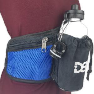 Pochete de cintura DBV - Preto Com Azul