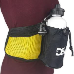 Pochete de cintura DBV - Preto com Amarelo