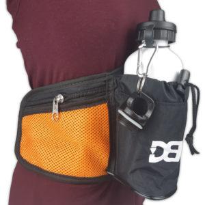 Pochete de cintura DBV - Preto com Laranja