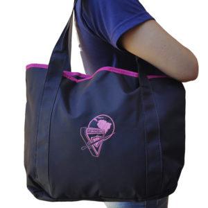 Bolsa tiracolo d4 rosa