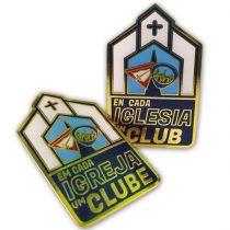 PIN DSA - Em Cada Igreja Um Clube-853136444