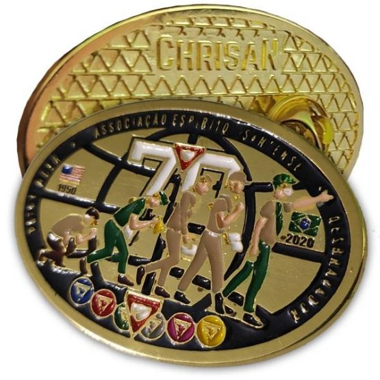 Pin 70 Anos – AES