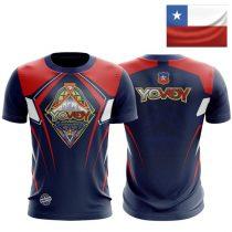 Camiseta Yo Voy DBV - CHILE-1464374666