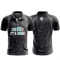 Camisa Polo Chegou a Hora-1643978732