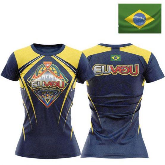 Camiseta Eu Vou DBV Baby Look – BRASIL