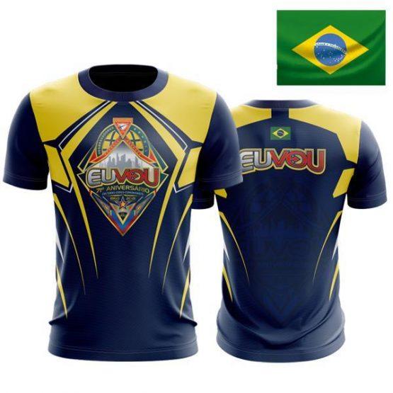 Camiseta Eu Vou DBV – BRASIL