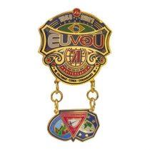 """Pin """"Eu Vou"""" duplo - PREMIUM-1088181668"""