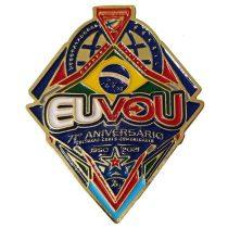 """Pin 71 anos """"EU VOU"""" - DBV-679615378"""