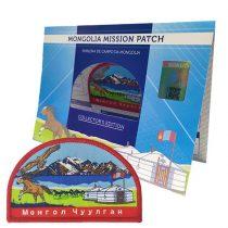 Emblema de campo Missão Mongólia - DBV-753581711