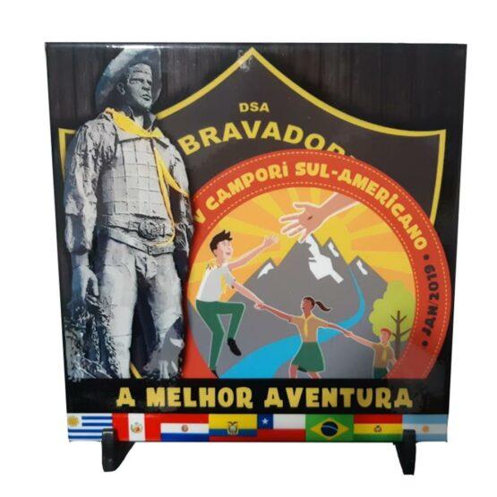 Azulejo decorativo V Campori Sul Americano